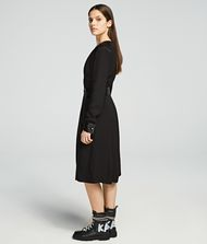 KARL LAGERFELD Layered Wrap Dress Dress Woman d
