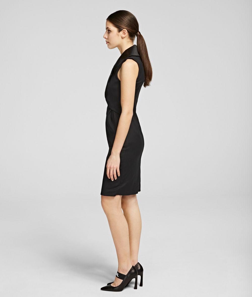 KARL LAGERFELD K/Styles Tuxedo Dress Dress Woman d