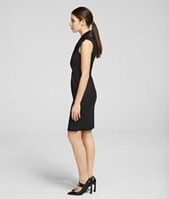 KARL LAGERFELD K/Styles Tuxedo Dress Dress Woman d