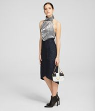 KARL LAGERFELD K/Styles Midi Dress 9_f