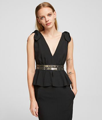 KARL LAGERFELD K/STYLES COCKTAIL DRESS