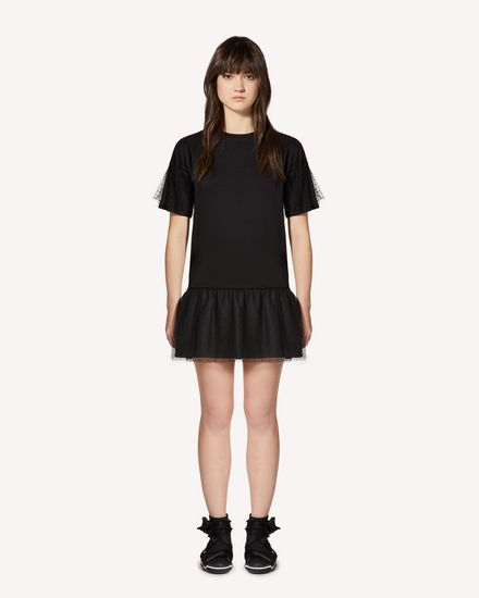 REDValentino Short dress Woman SR0MJ03E4Q2 0NO f