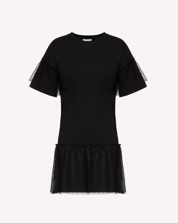 "REDValentino ""Love You"" printed T-shirt dress"