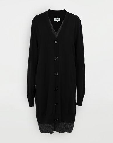 ROBES Robe-cardigan Noir