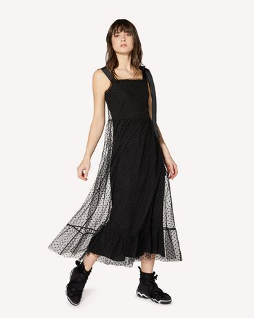 REDValentino SR0VA04A4KN 0NO Long and midi dresses Woman d