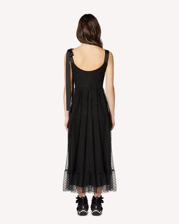REDValentino SR0VA04A4KN 0NO Long and midi dresses Woman r