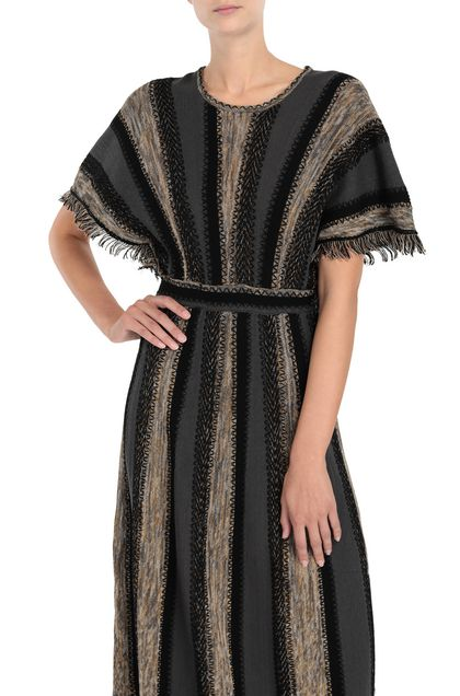 M MISSONI Dress Grey Woman - Front
