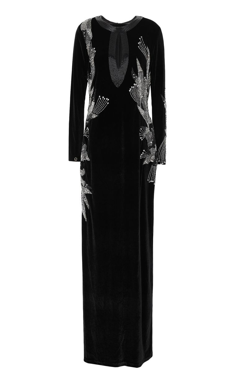 JUST CAVALLI Elegant velvet dress Dress Woman f