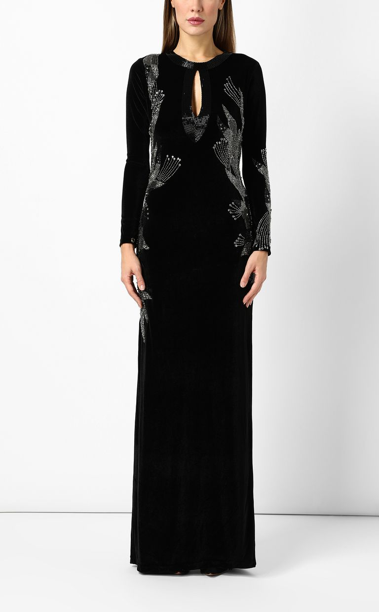 JUST CAVALLI Elegant velvet dress Dress Woman r