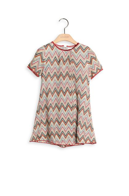 MISSONI KIDS Dress Red Woman - Back