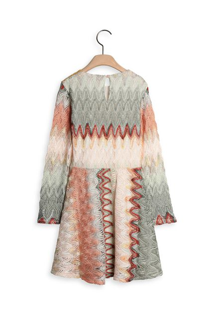 MISSONI KIDS Dress Green Woman - Front