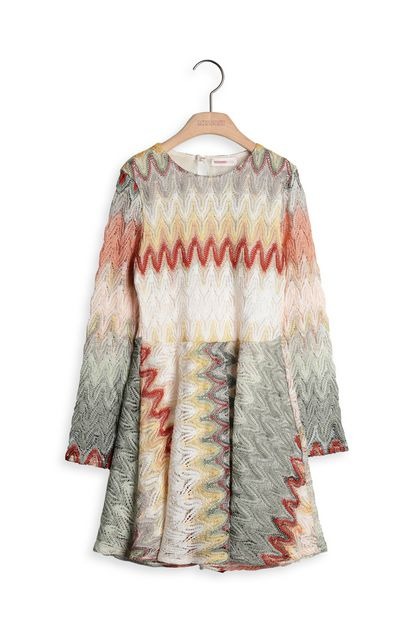 MISSONI KIDS Dress Green Woman - Back