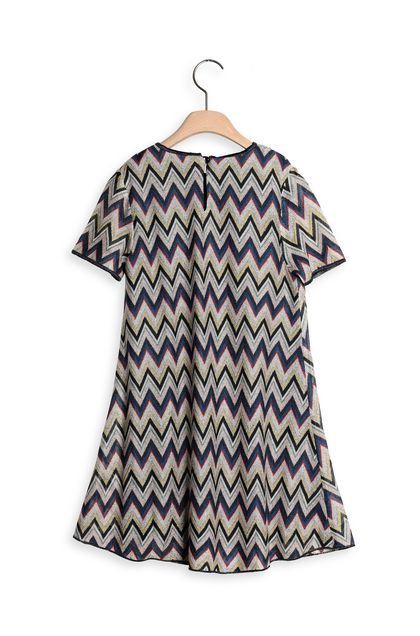 MISSONI KIDS Dress Blue Woman - Front