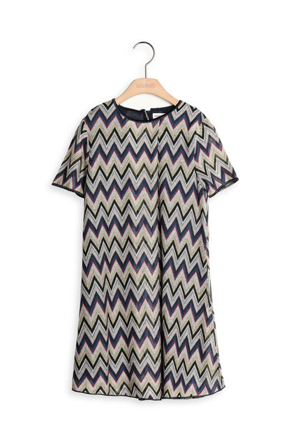 MISSONI KIDS Dress Blue Woman - Back