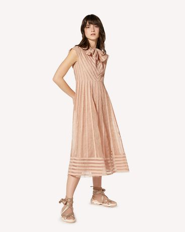 REDValentino SR0VA04E4KH 383 Long and midi dresses Woman d