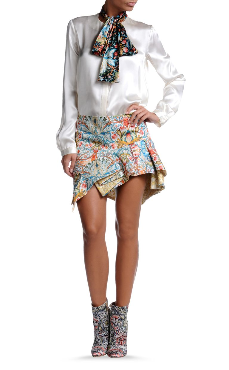 JUST CAVALLI S02MA0063N36573-101S Mini skirt D f
