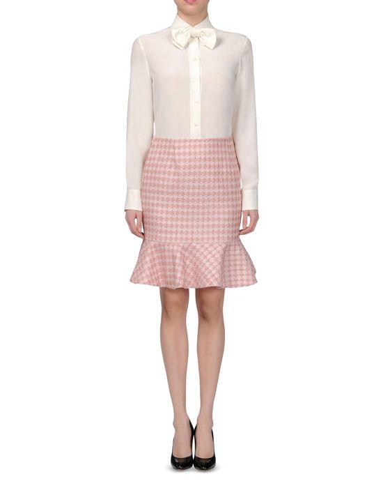 moschino cheap and chic knee length skirt moschino