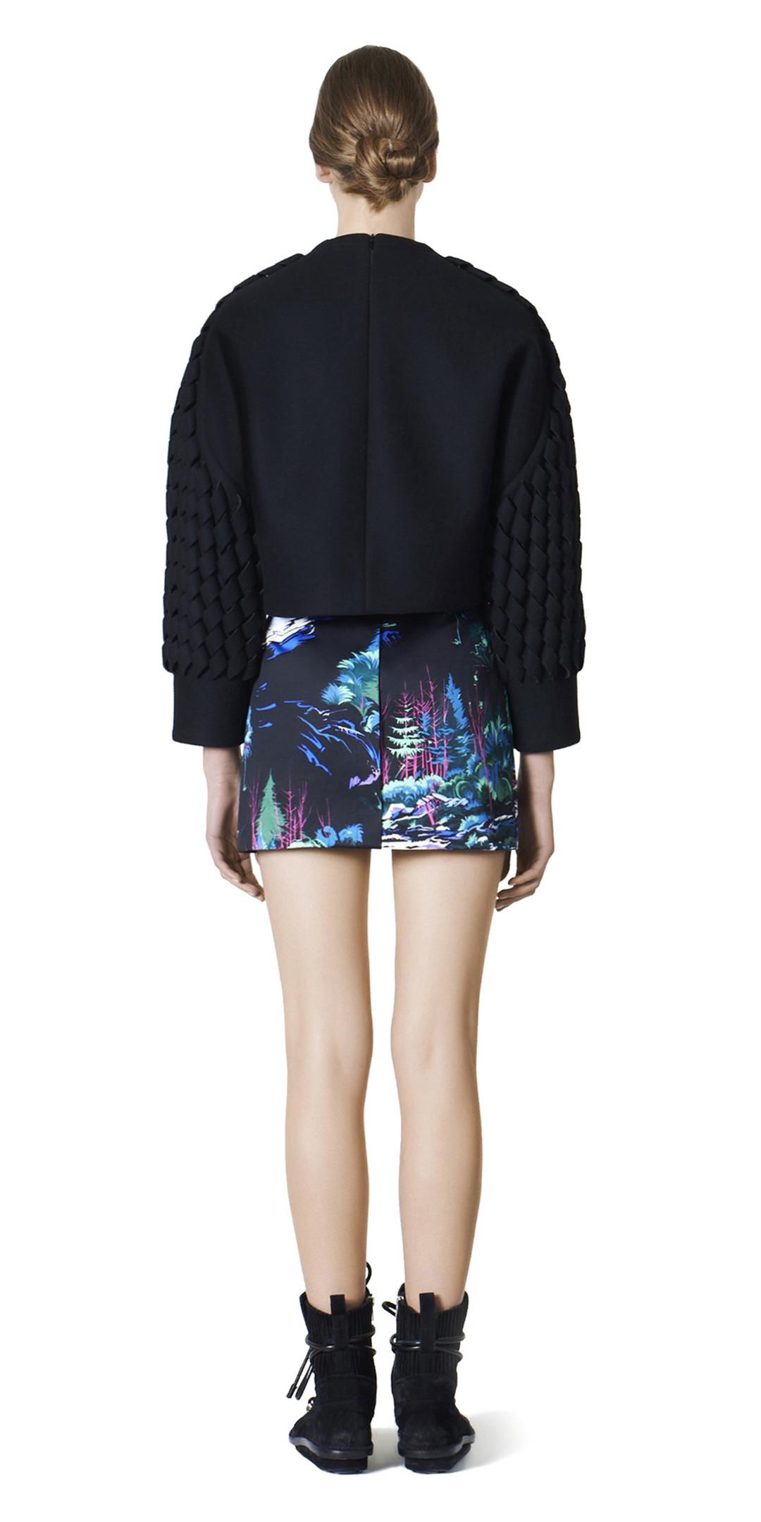 BALENCIAGA Skirt D Balenciaga Landscape Mini Skirt i