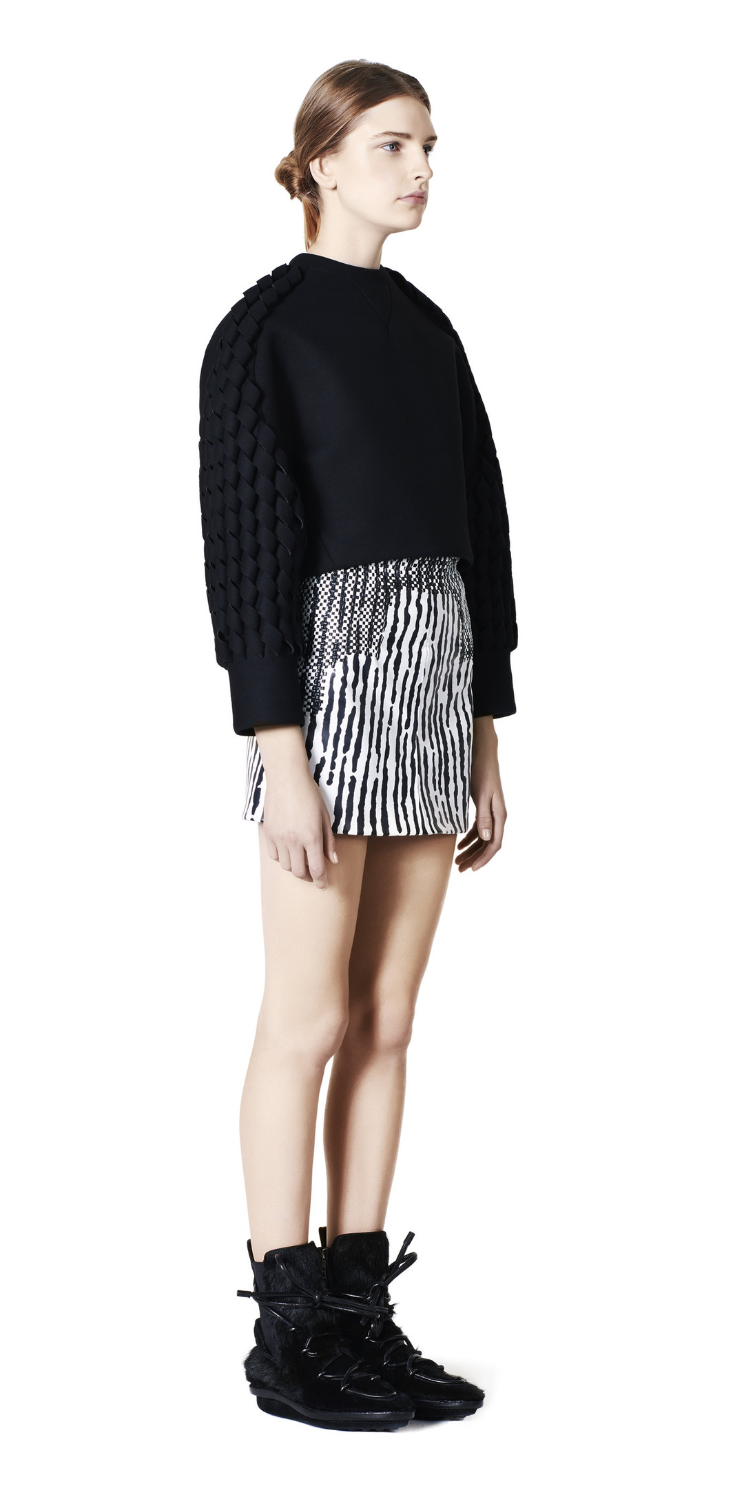 BALENCIAGA Balenciaga Engineer Skirt Skirt D f