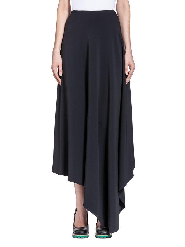 Marni Runway skirt in stretch raw-edged cady Woman - 1