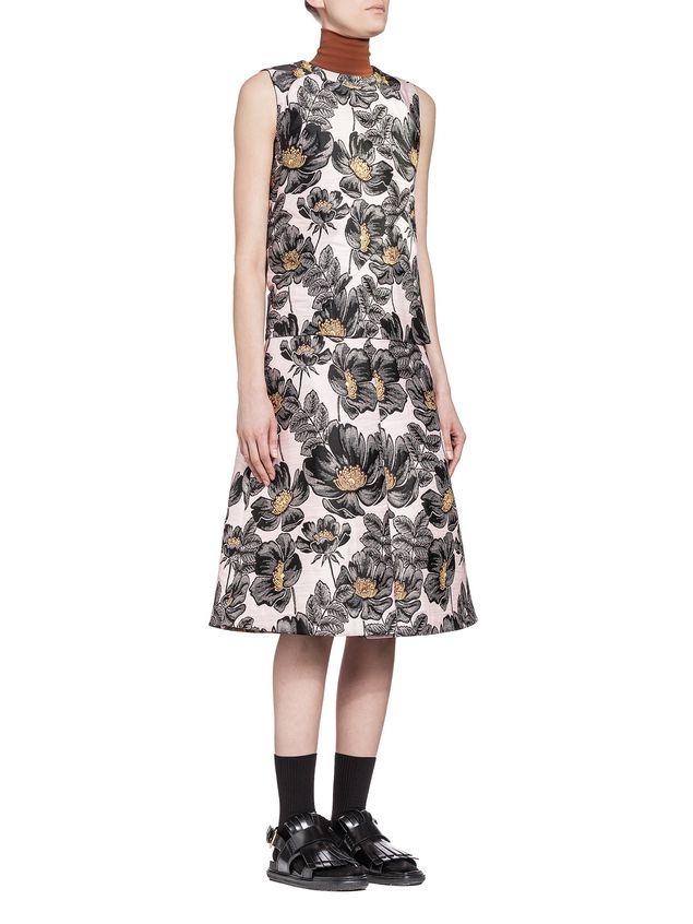 Marni Skirt in 3D matelassé floral jacquard Woman - 4