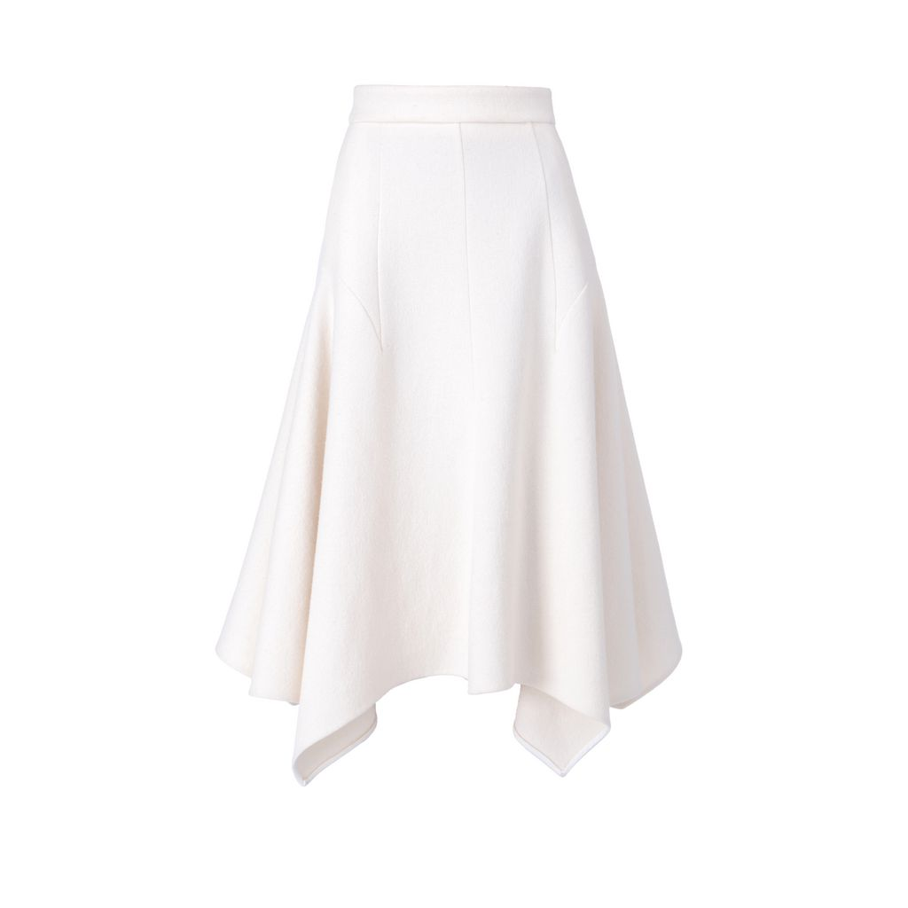 Wool Crepe Emma Skirt - STELLA MCCARTNEY