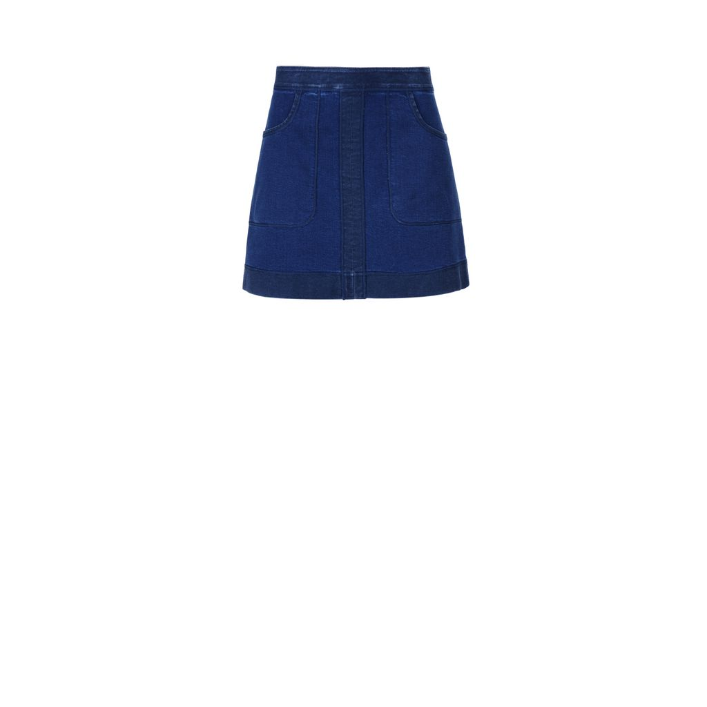 Denim Nadja skirt - STELLA MCCARTNEY