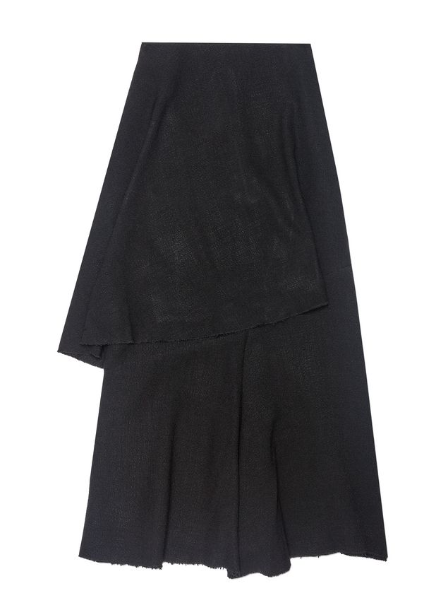 Marni Asymmetric skirt in viscose toile Woman - 2