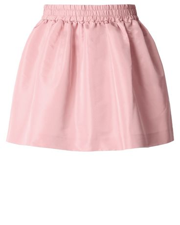 REDValentino Special Edition Faille Mini Skirt