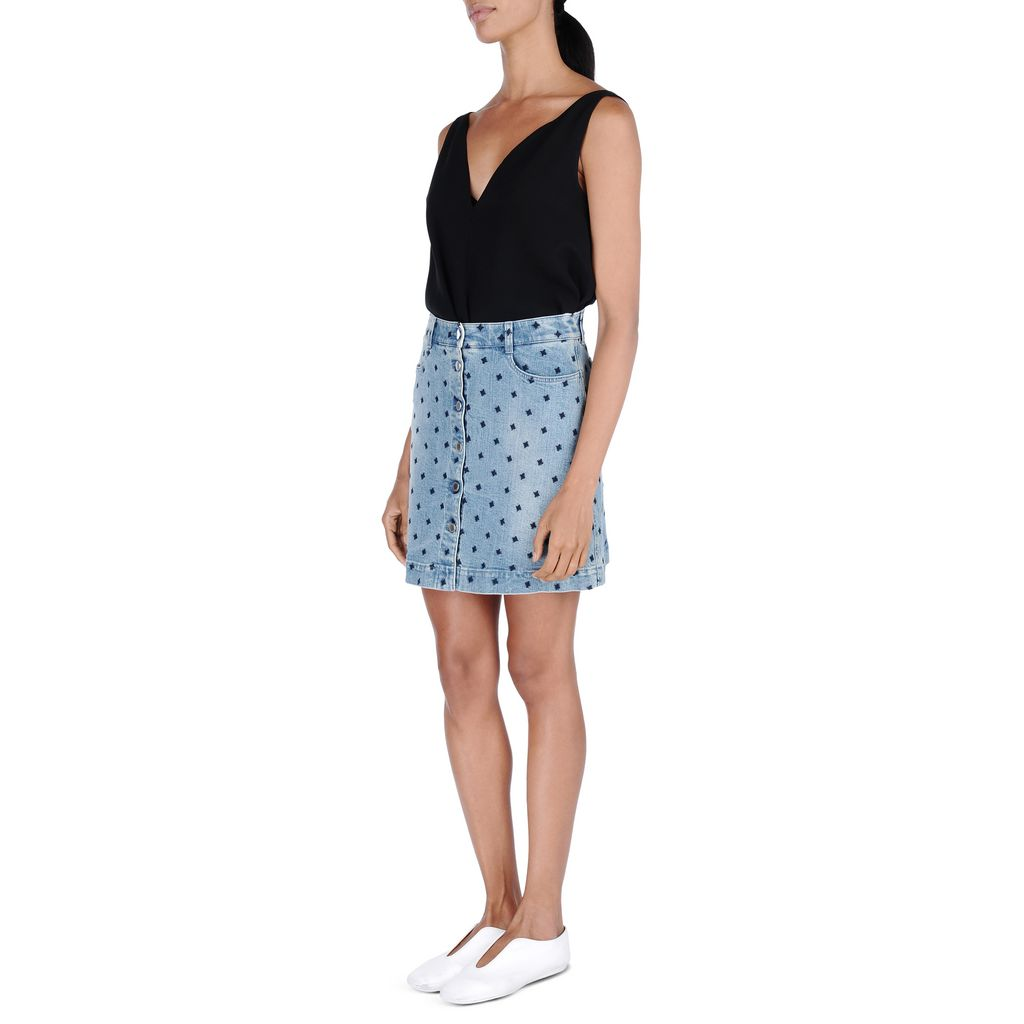 Star Denim Skirt - STELLA MCCARTNEY