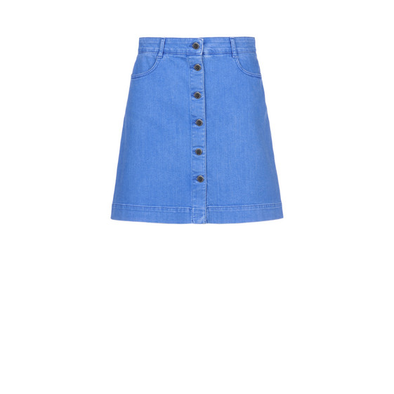 Supreme Blue Denim Skirt