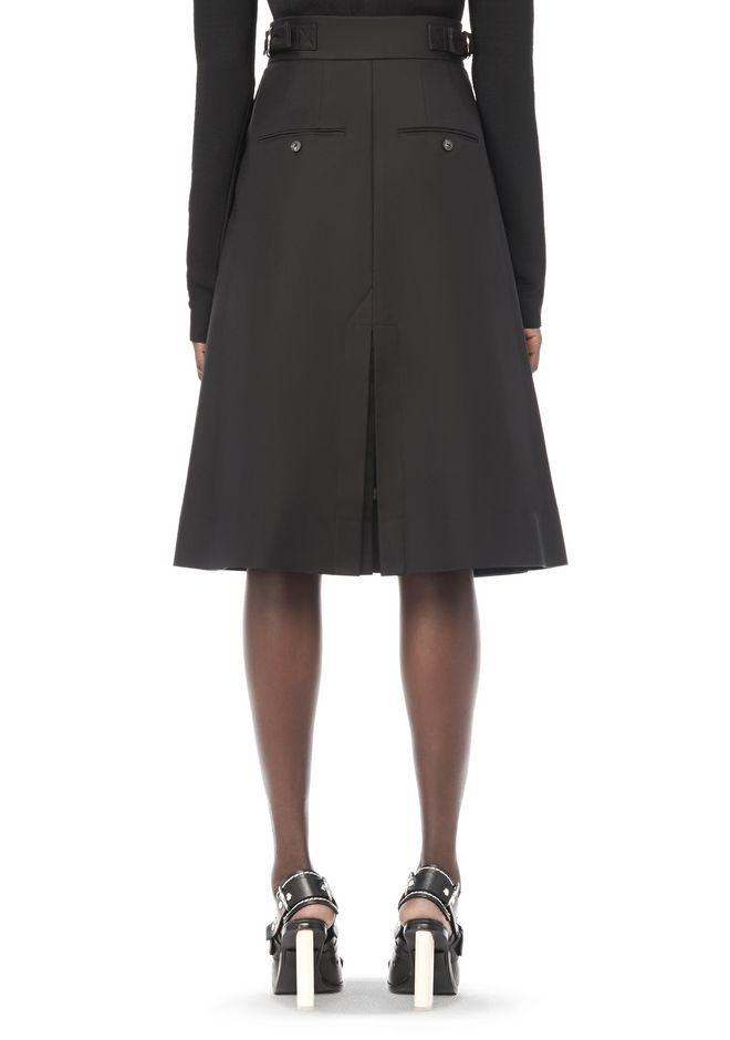 wang high waisted a line skirt skirt official site