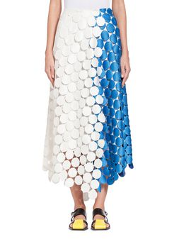 Marni Runway skirt in dot macramé Woman