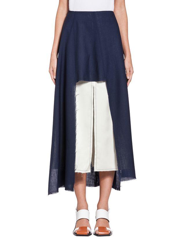Marni Runway skirt in 2-thread tropical wool   Woman - 1