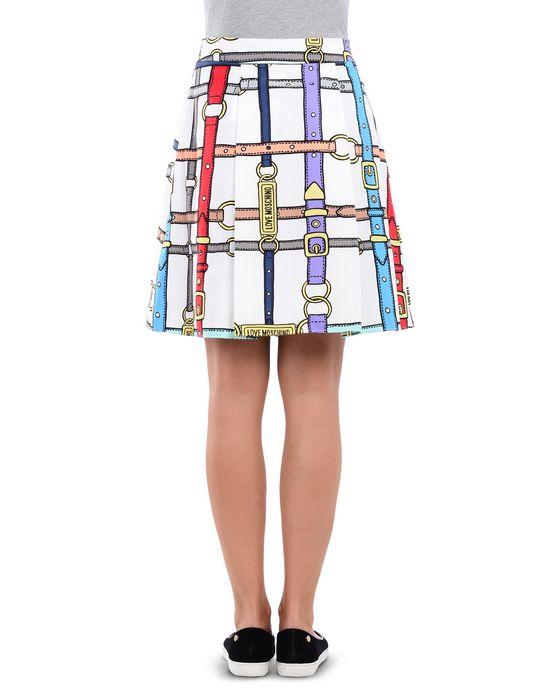 Knee length skirt Woman LOVE MOSCHINO