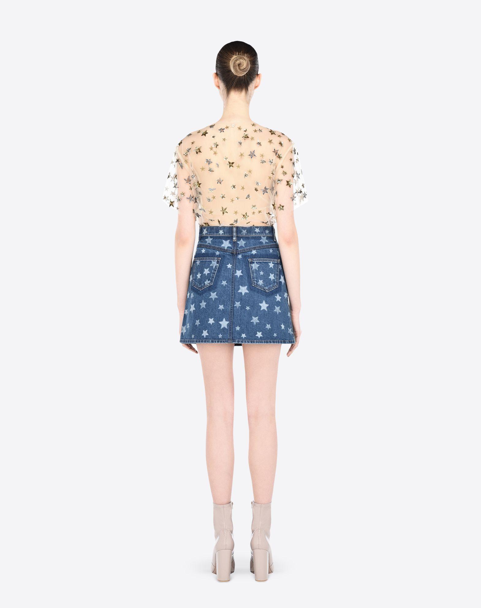 VALENTINO LB2DD02U2K4 600 Skirt D a