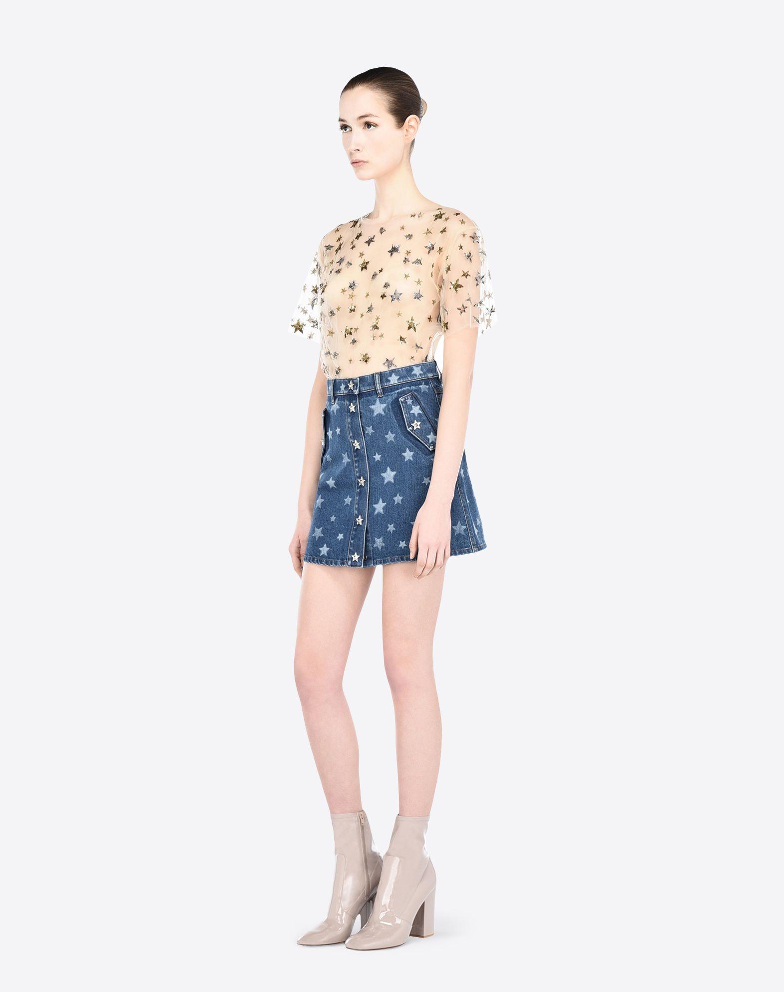 VALENTINO LB2DD02U2K4 600 Skirt D d