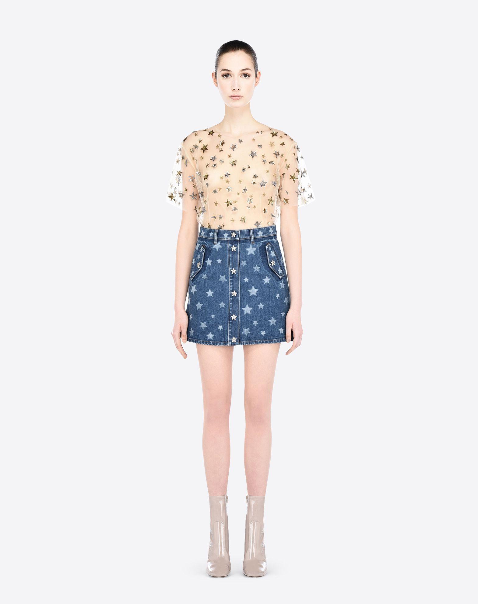 VALENTINO LB2DD02U2K4 600 Skirt D r