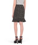 KARL LAGERFELD Salt & pepper bouclé skirt 8_r