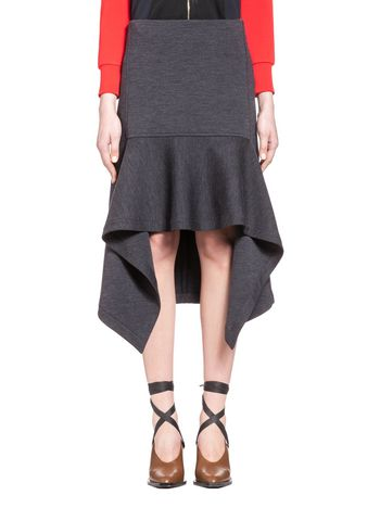 Marni Skirt in double-face wool jersey Woman