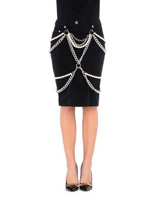 MOSCHINO Knee length skirt D r