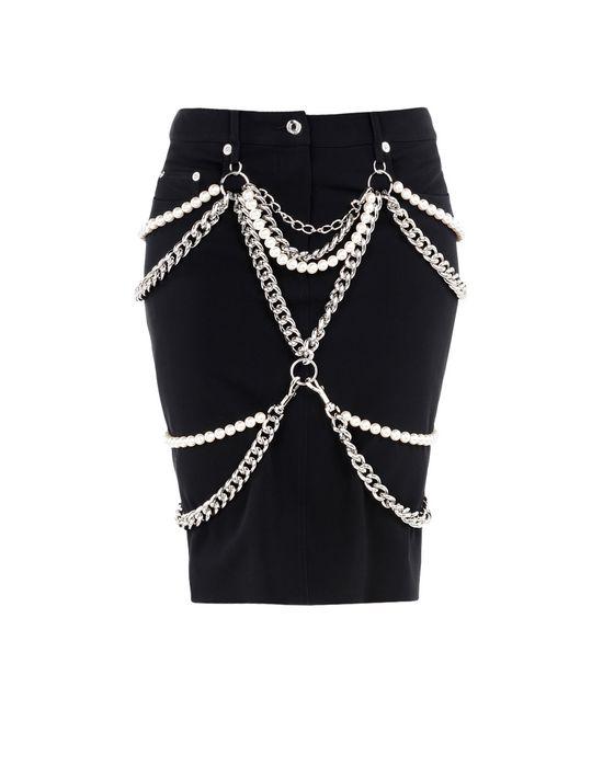 Knee length skirt Woman MOSCHINO