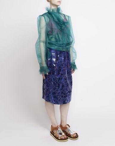 MAISON MARGIELA Knee length skirt D Look 20: Embroidered Skirt f