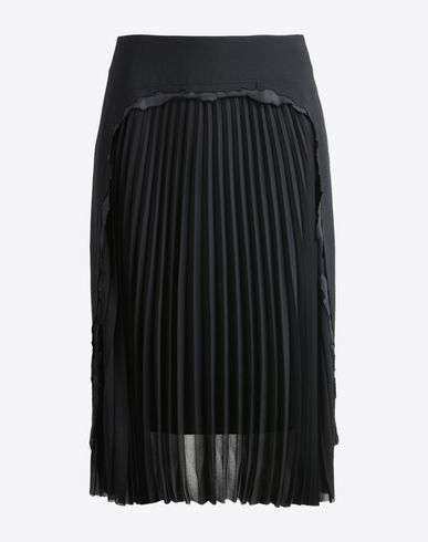 MAISON MARGIELA 1 Destroyed effect skirt 3/4 length skirt D f