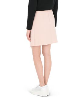 KARL LAGERFELD GRAPHIC ZIPPER SKIRT
