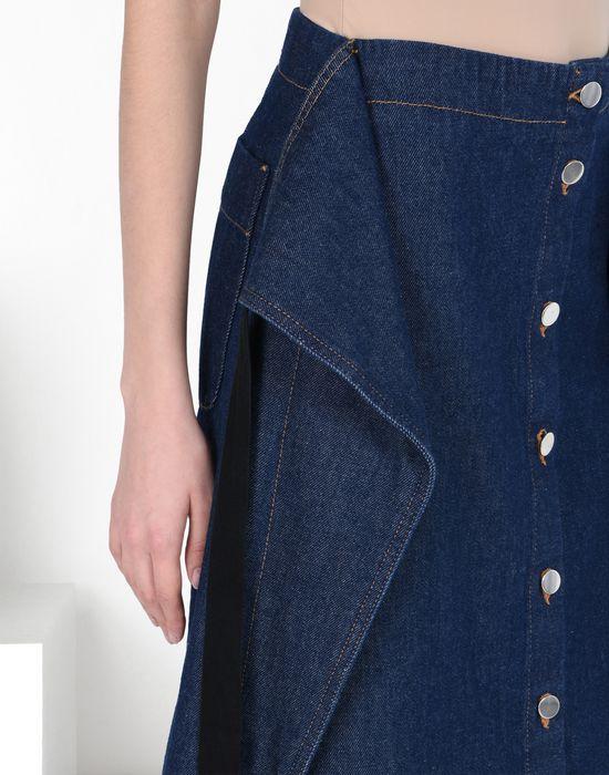 MM6 by MAISON MARGIELA Midi-length denim skirt Denim skirt D a