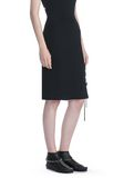 ALEXANDER WANG PENCIL SKIRT WITH SIDE SLIT LACING SKIRT Adult 8_n_e