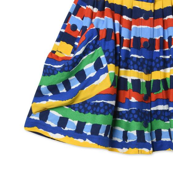 Island Festival Print Dollie Skirt