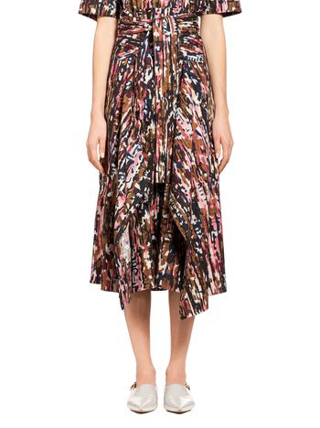 Marni Runway skirt Haze Woman