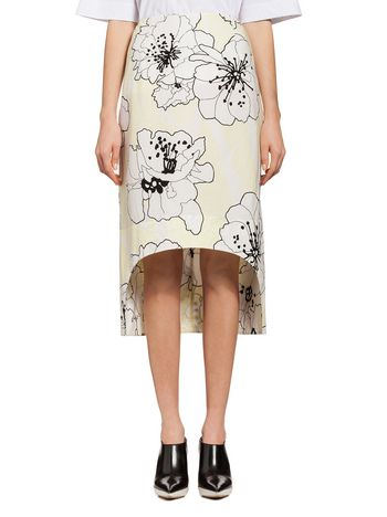 Marni Runway skirt with Posy print Woman
